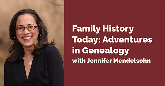 Family History Today: Adventures in Genealogy – Live on Zoom