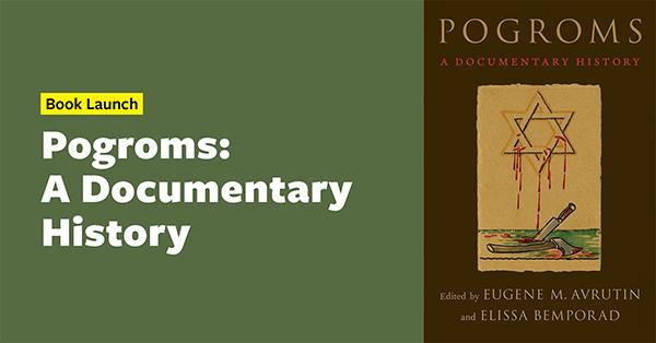 PogromsADocumentaryHistory