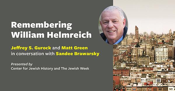 RememberingWilliamHelmreich