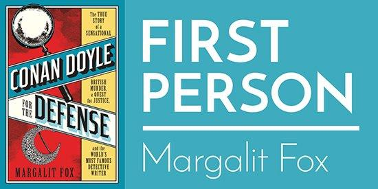 First Person: Margalit Fox